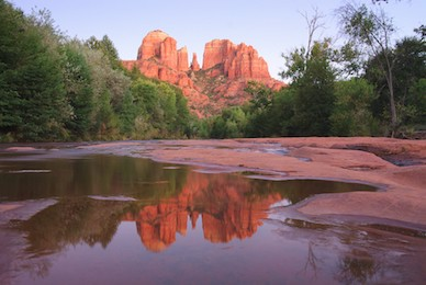 Majestic Cathedral Rock in Sedona, Arizona