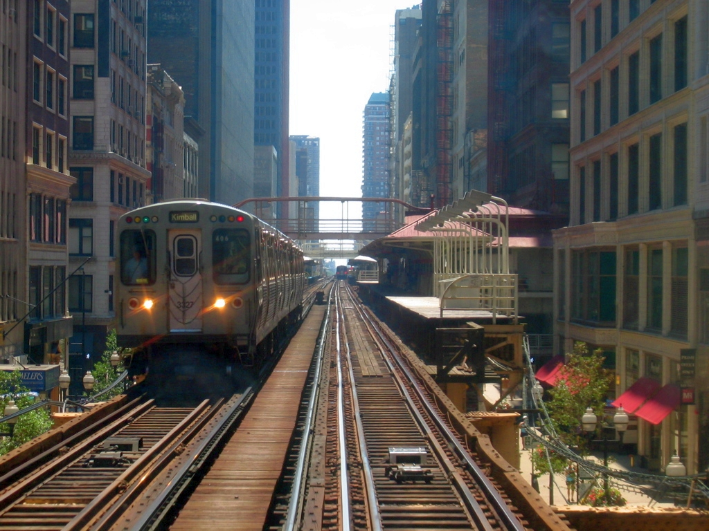 The Train Tris Jumps From in Divergent