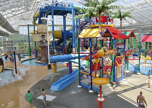 Indoor Water Slides and Waterpark