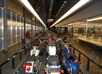 See Hundreds of Bikes at the Harley Museum