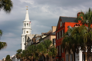 Steeple in Charleston, SC