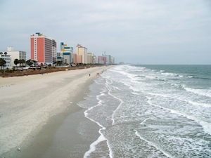 Sand and Surf in Myrtle Beach, SC