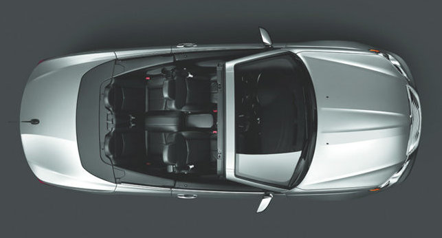 Chrysler 200 Convertible From Above