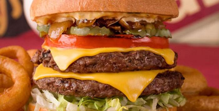 KGB Double Cheese Burger