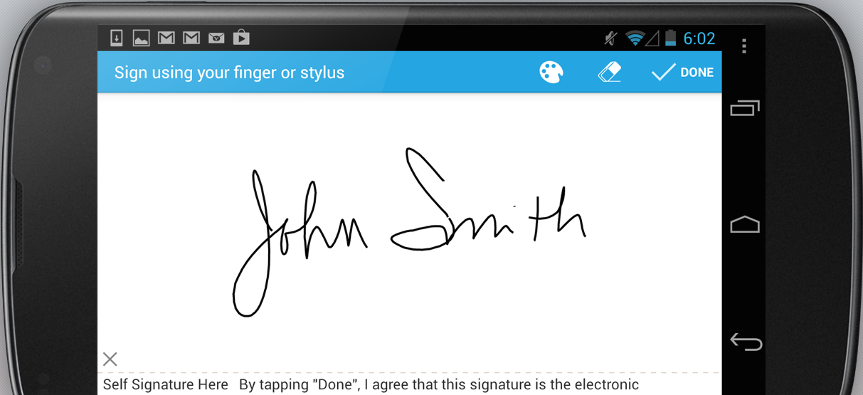 SignEasy Screenshot