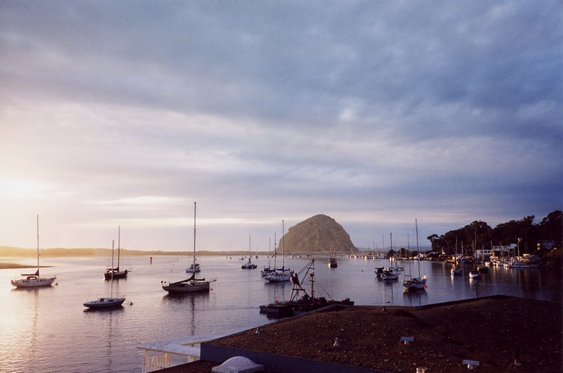 Boats in Morro Bay, California