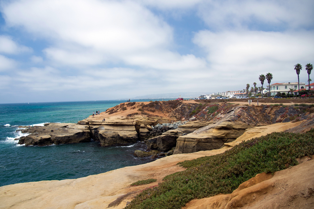Sunset Cliffs in Point Loma