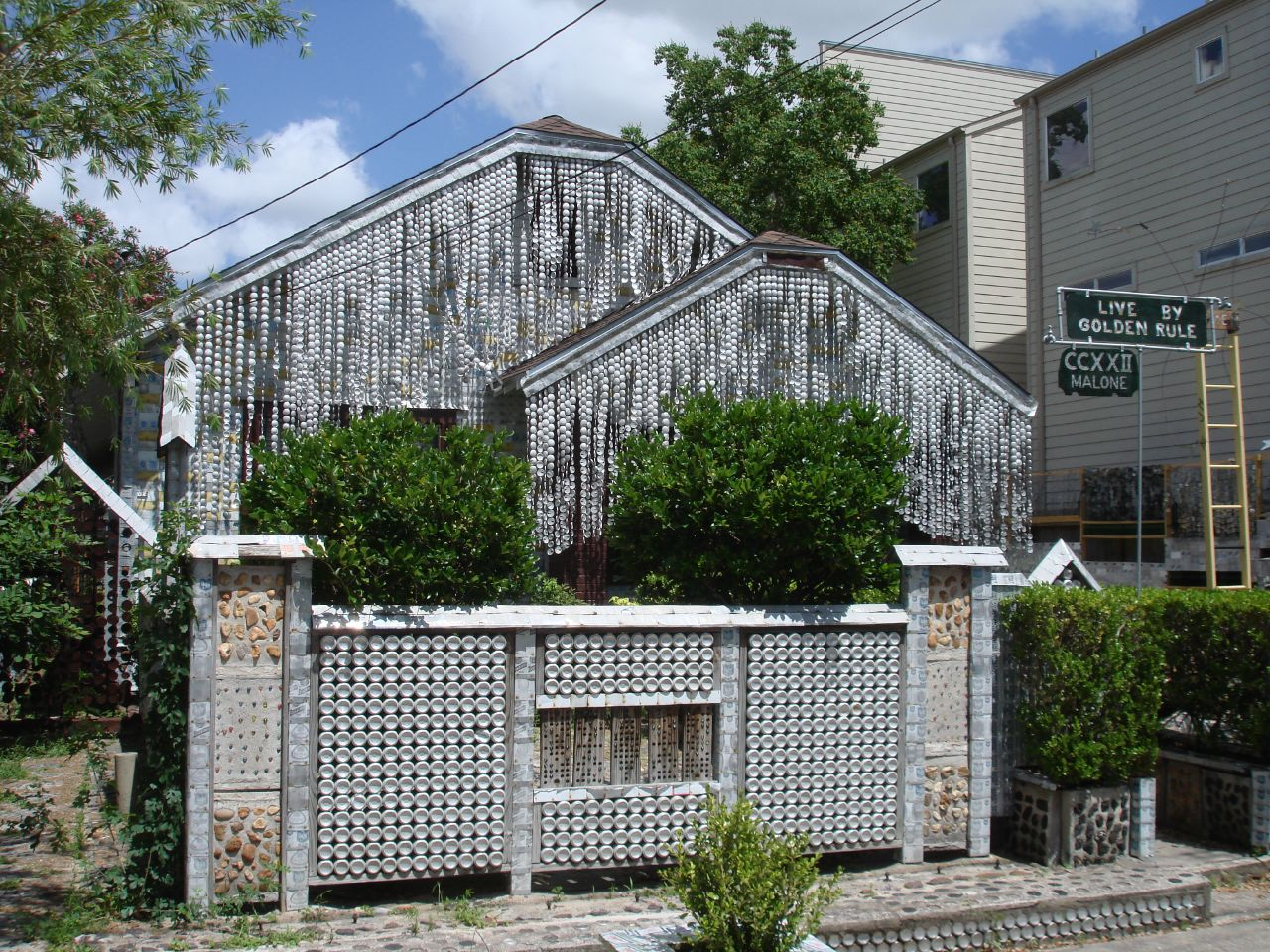 House Made of Beer Cans