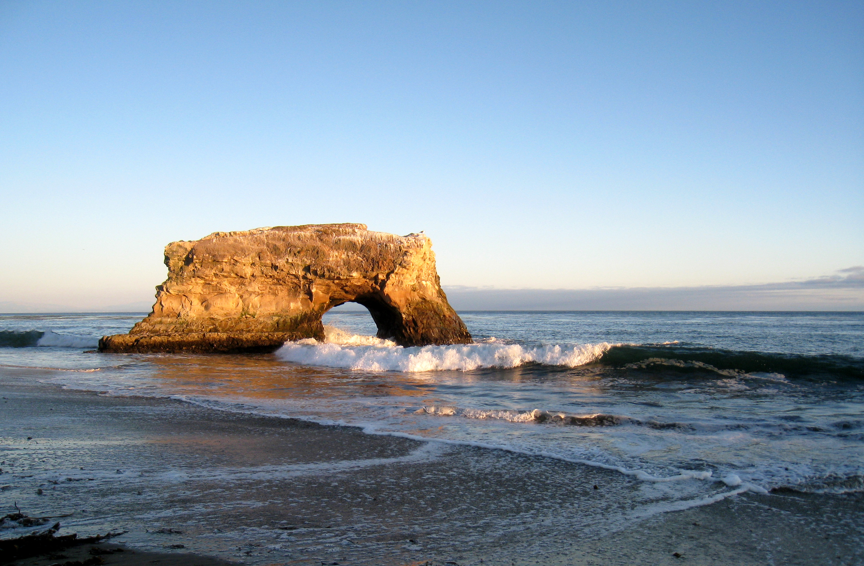 Natural Bridge in Santa Cruz, CA