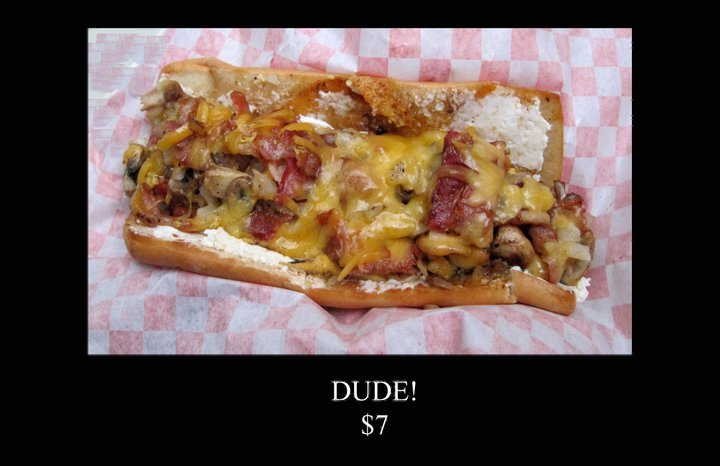 Dude! Hot Dog from Bro-Dog