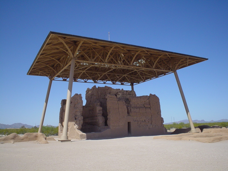 Covered Casa Grande House Ruins