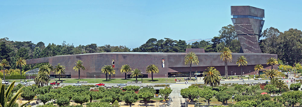 Panoramic View of the De Young Museum