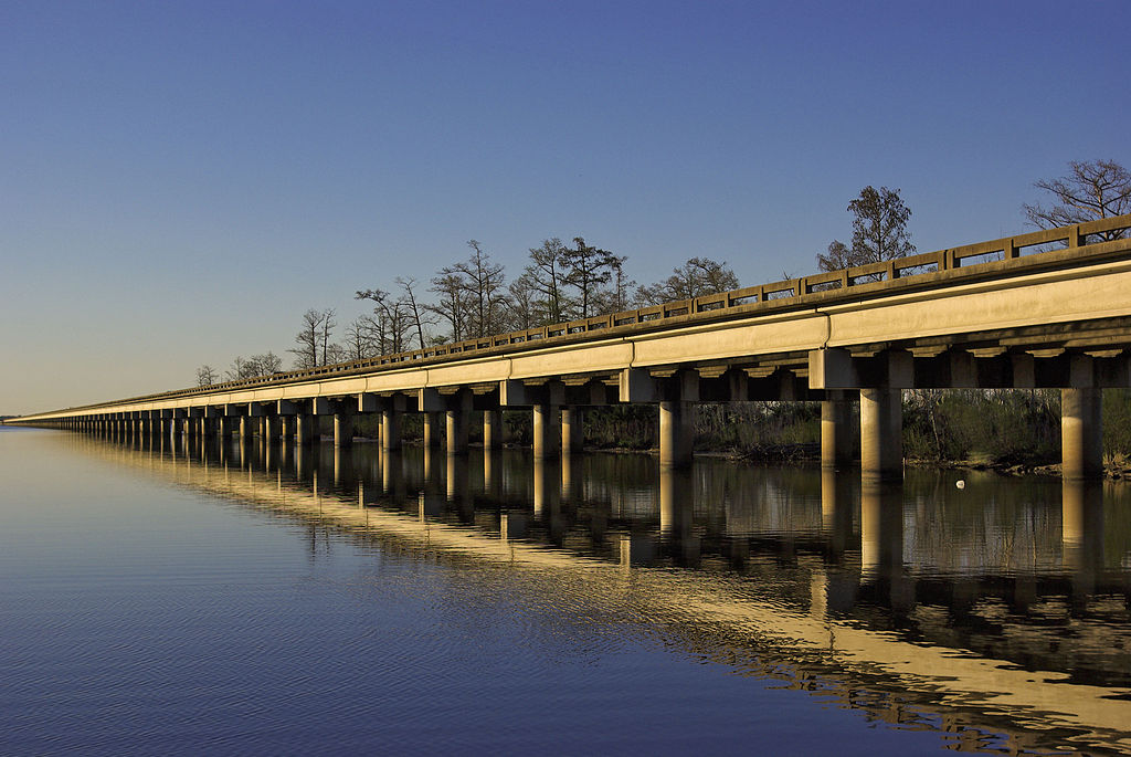 I-10 Bridge Through Louisiana
