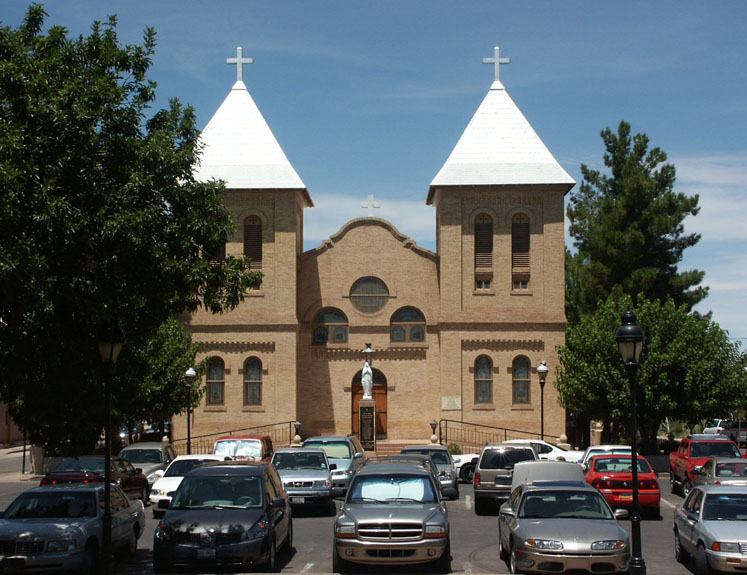Church in Mesilla, California