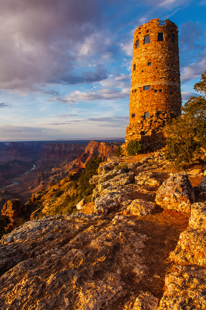 Grand Canyon Desert View Watchtower