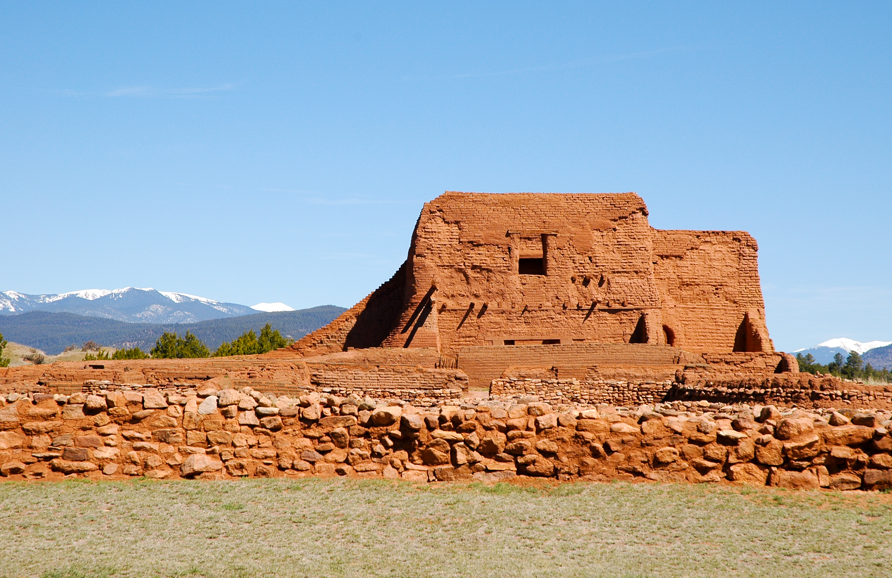 Pecos Pueblo Mission Church