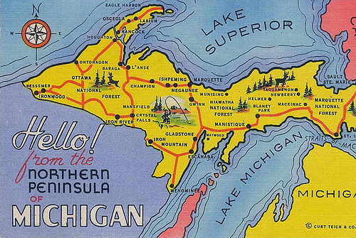 Upper Peninsula Postcard