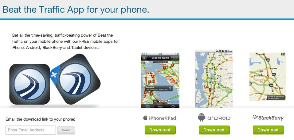 Travel App Of The Week: Beat The Traffic