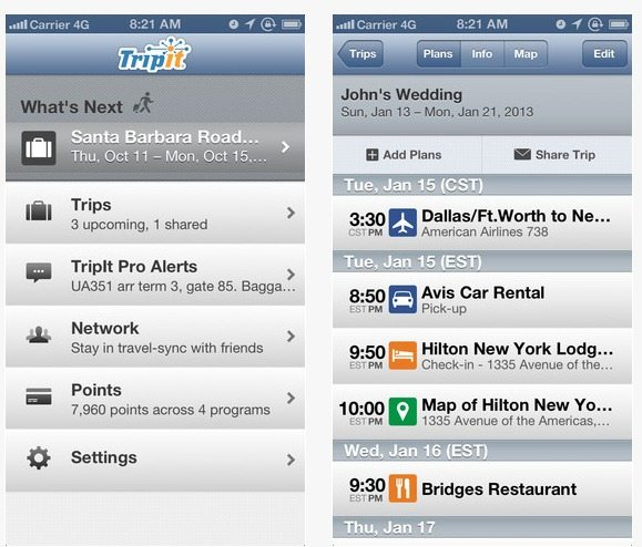 Travel App Of The Week: TripIt