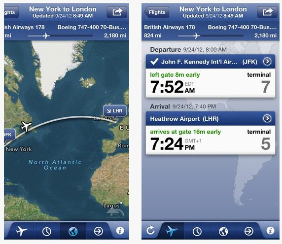 Travel App Of The Week: FlightTrack Pro