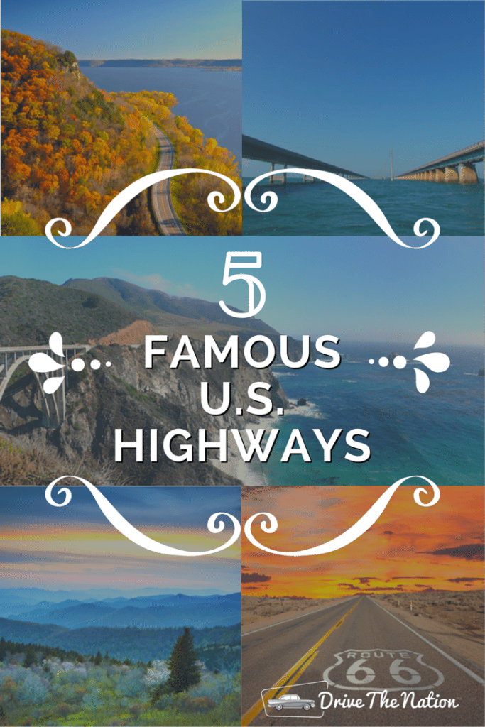 Take a trip on one of these top 5 most famous US highways!
