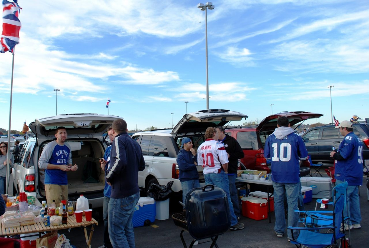 Best Pro Football Tailgating Cities