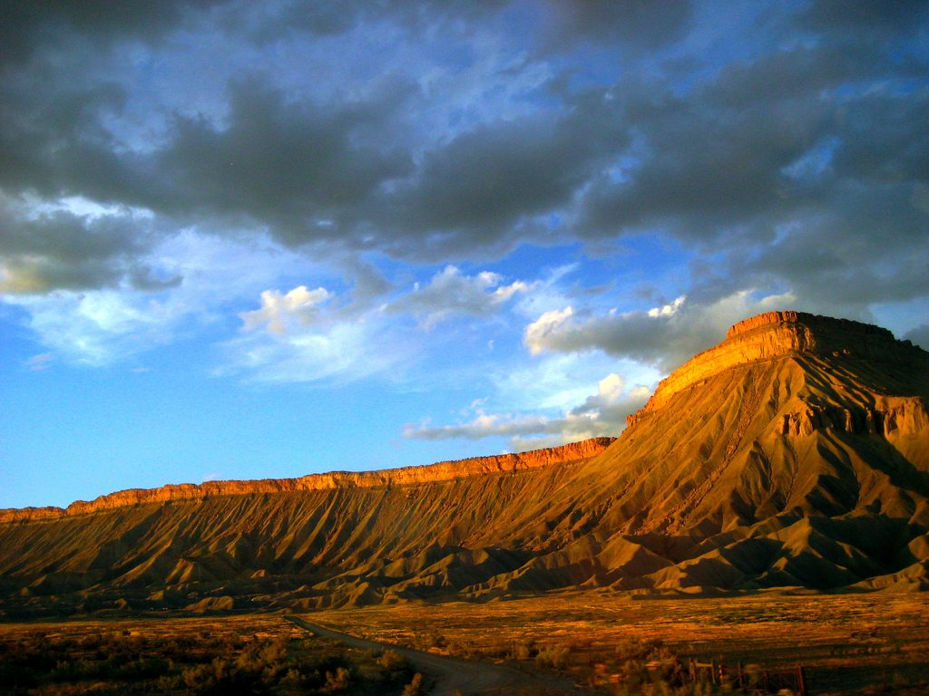 Sunlight on the Mesa in Grand Junction, CO