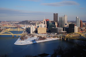 Golden Triangle in Pittsburgh