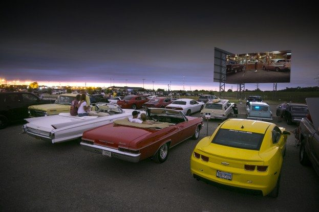 Coyote Drive-In Movie Theater, Fort Worth, TX