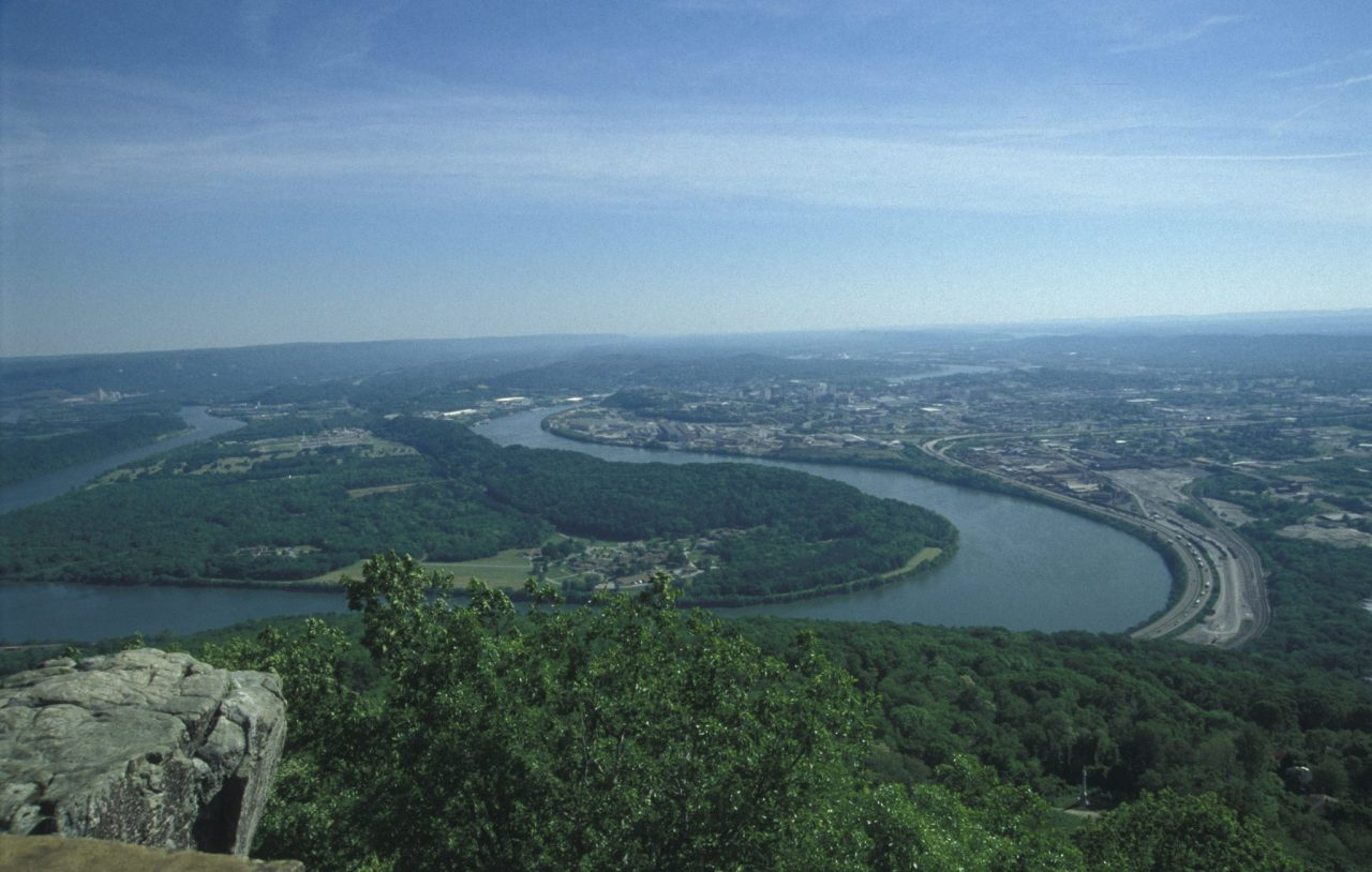 See 7 States Atop Lookout Mountain