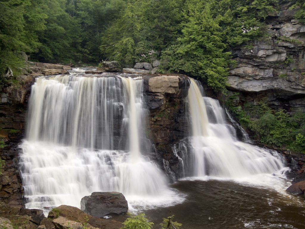 One of West Virginia's most iconic sites, Blackwater Falls
