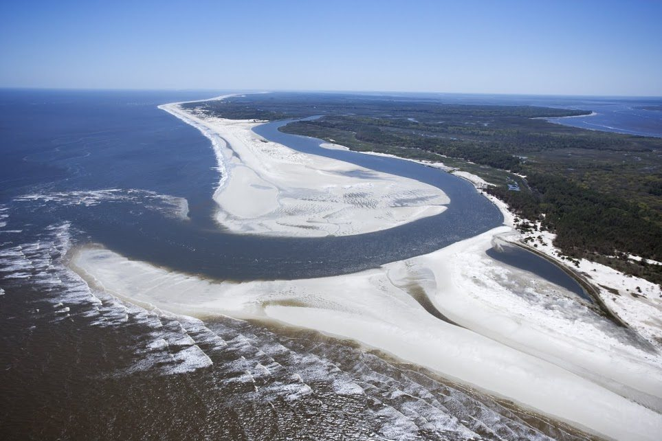 Aerial View of Cumberland Island