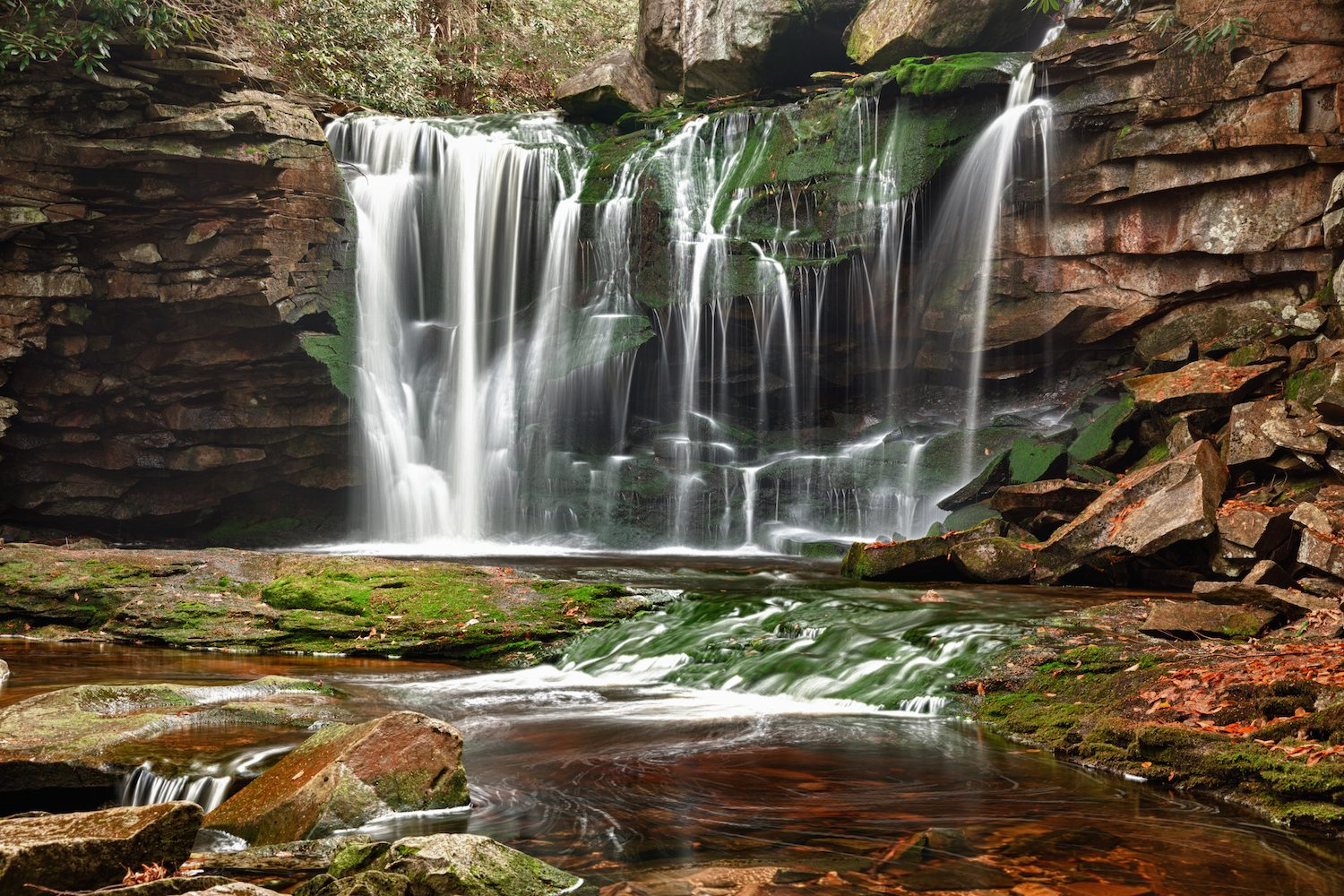 West Virginia's Most Breathtaking Waterfalls