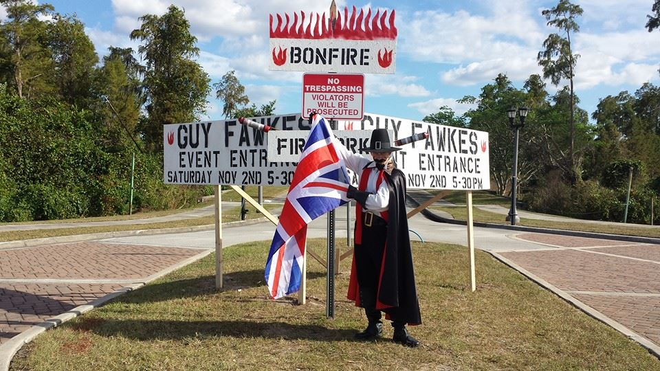 Guy Fawkes Kissimmee