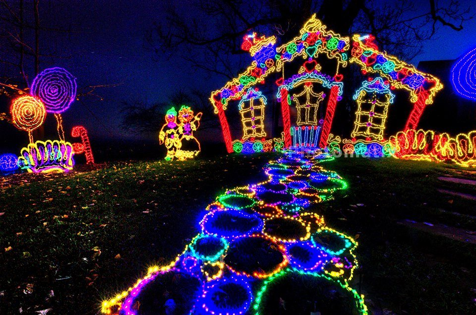 Rock City's Enchanted Garden of Lights