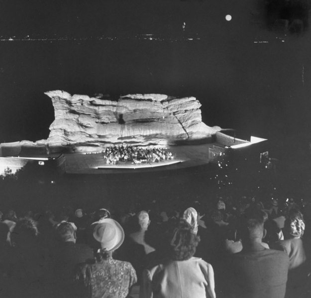 Red Rocks Before 1936