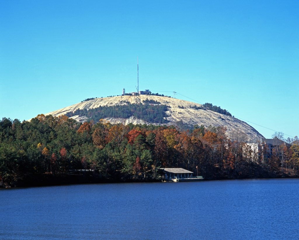Stone Mountain and Lake Atlanta