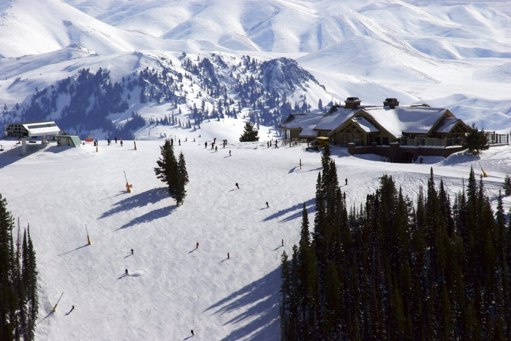 Ski Slopes at Sun Valley, ID