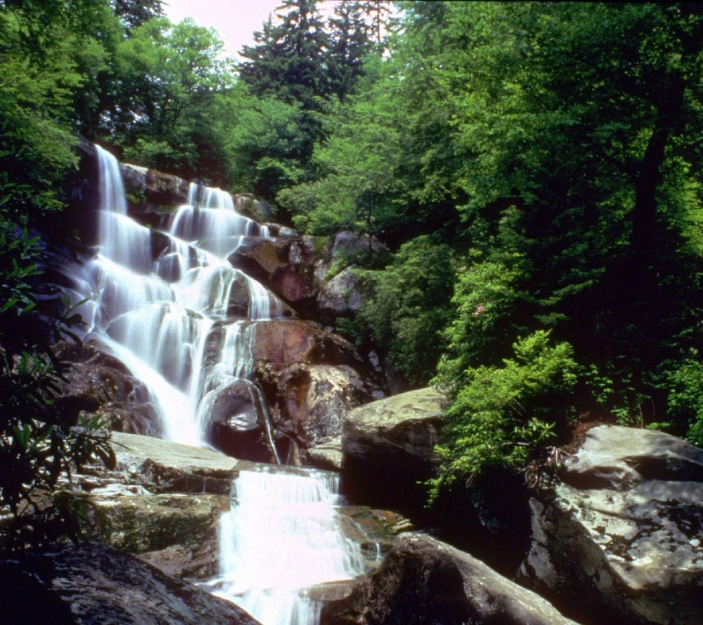 Ramsey Cascades Waterfalls