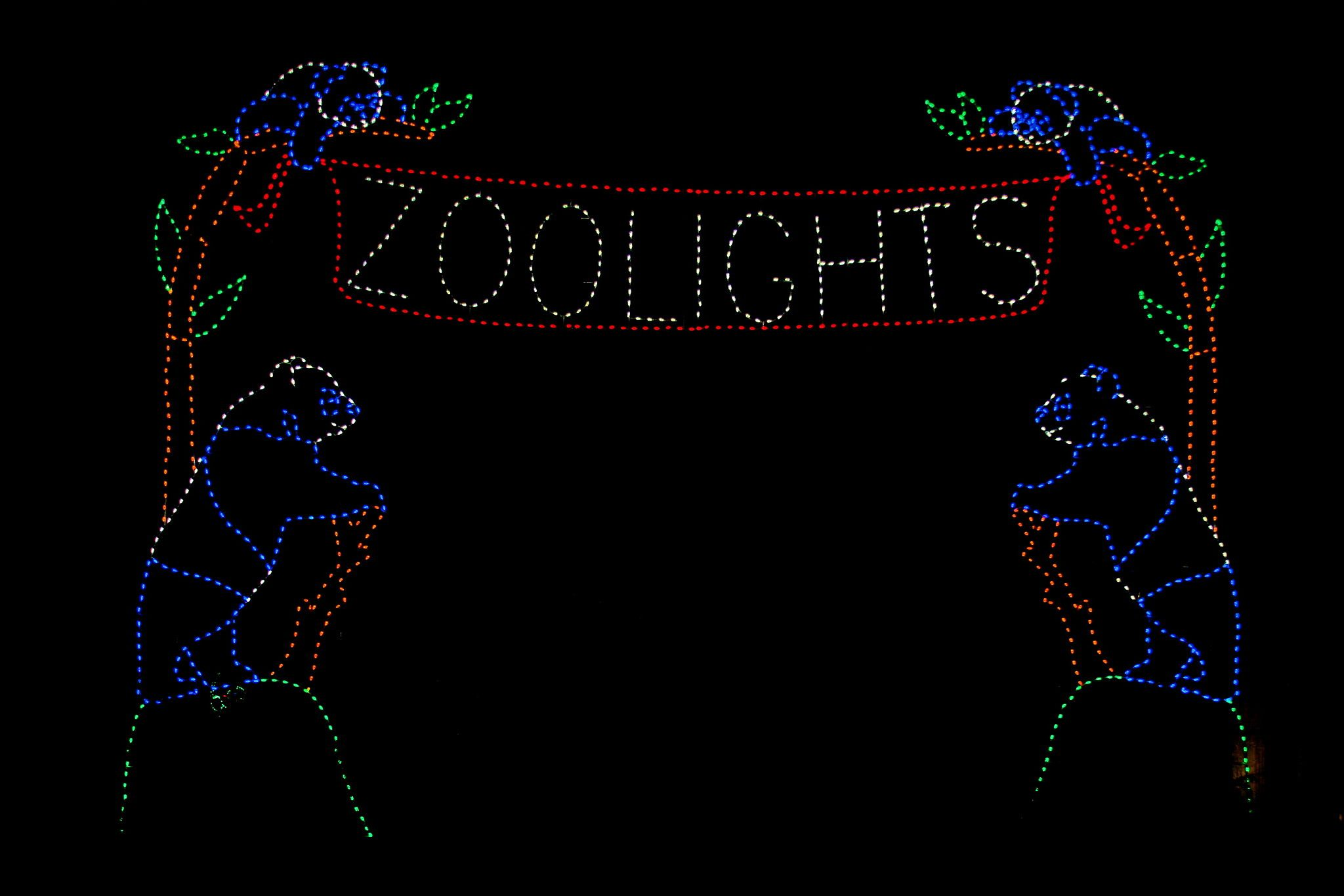 Get a Double Dose of Fun with Holiday Zoo Lights