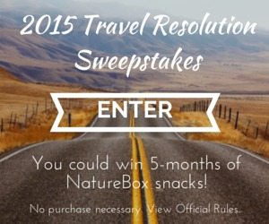 Enter the 2015 Travel Resolutions Sweepstakes