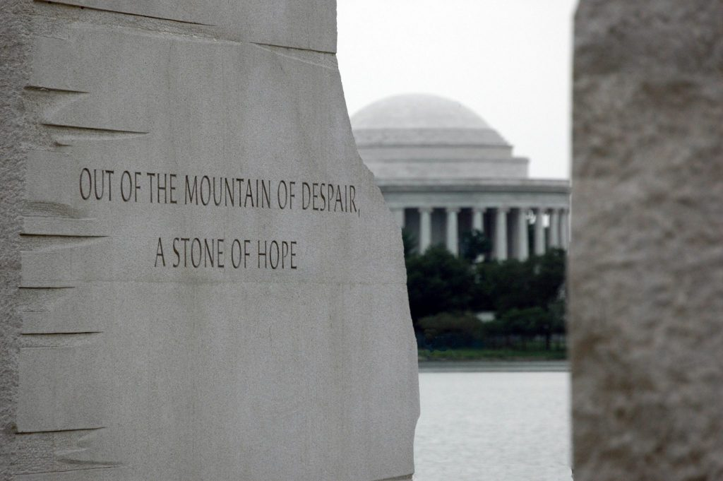 Martin Luther King, JR. Memorial Quote