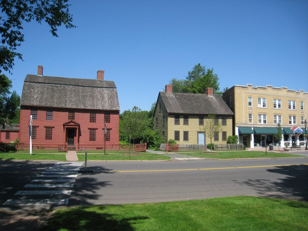 Joseph Webb and Isaac Stevens Houses, Wethersfield, Connecticut, USA