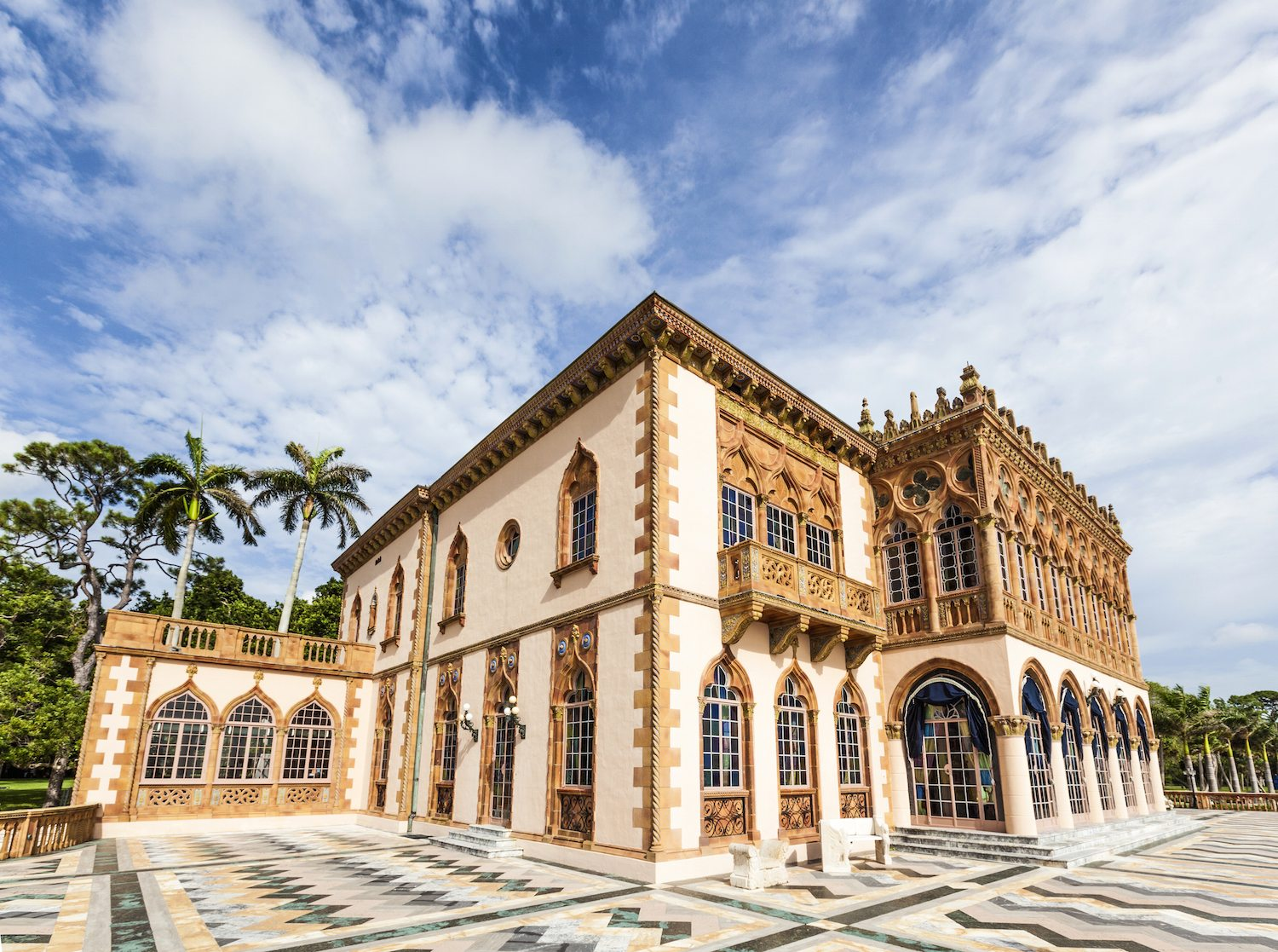 Visit the Ringling Estate in Sarasota, Florida