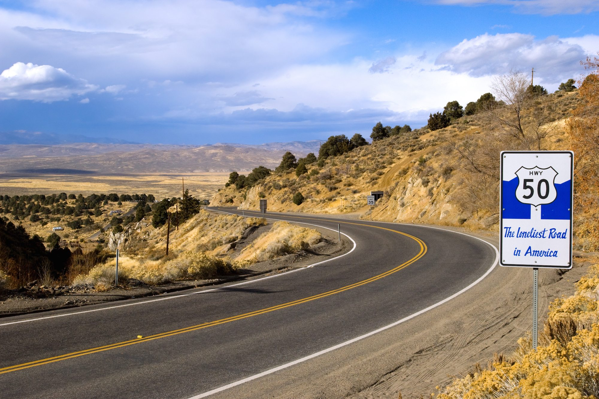 Highway 50: The Loneliest Road