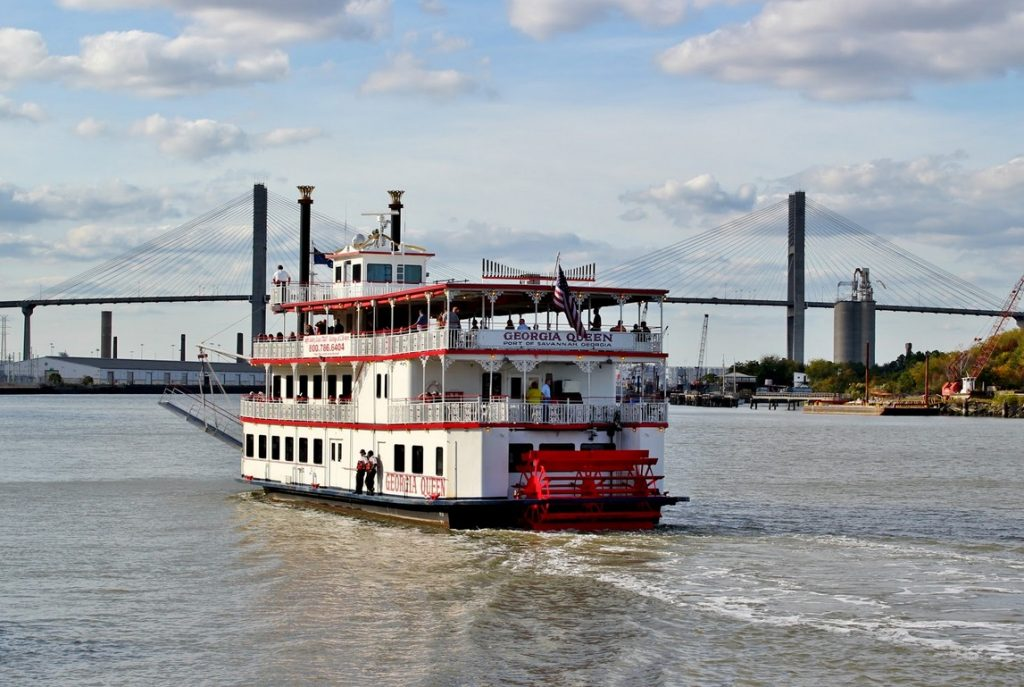 Savannah River Cruise Boat