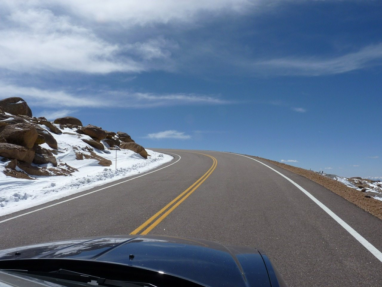 A Drive Up Pike's Peak