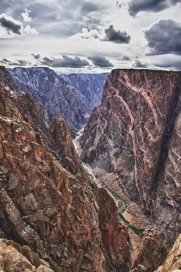 Black Canyon Of The Gunnison Park In Colorado