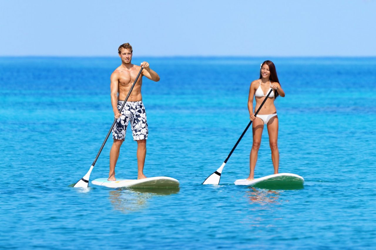 Try Stand Up Paddleboarding This Summer