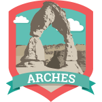 Arches Badge
